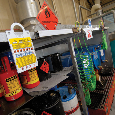 Chemical Inspection Inspection Systems Scafftag