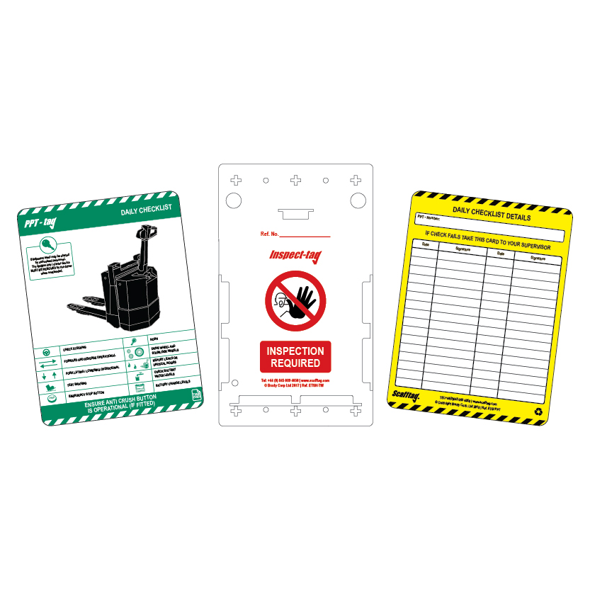 Pallet Truck Tags