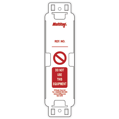 Machinery Tag Holders