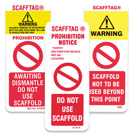 Scaffolding Inspection Systems Scafftag