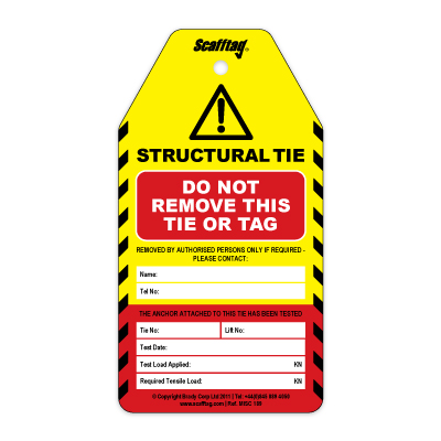 Structural Tie Tags