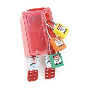 Extra hooks for Wall-Mounted Group lockout Box