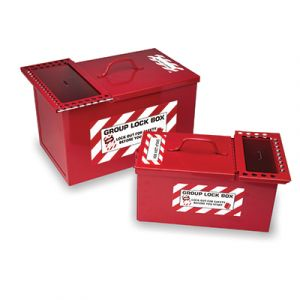 Combined Lock Storage / Group Lockout Box (Small)