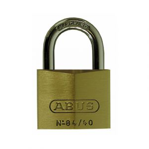 Brass Padlock with Hardened Steel Shackle - Small (Pack of 6)