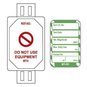 Microtag® Tag for HAVs - Vibration / Points System