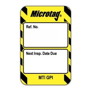 Microtag® Inserts - Next Inspection Date Due