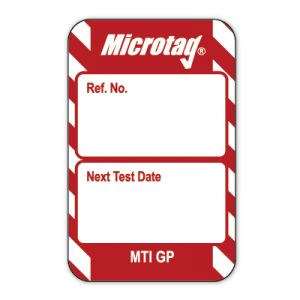 """Microtag® Inserts - """"Next Test Date"""""""