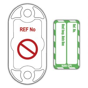Nanotag for Harnesses - Next Inspection Date Due (Pack of 20)