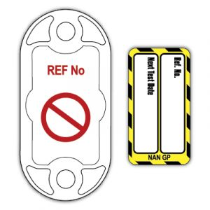 Nanotag™ Tag for Electrical Equipment - Next Test Date (Pack of 20)