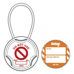 Unitag® for Machinery - Next Inspection Date Due (Pack of 20)