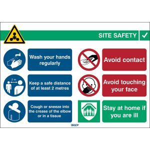 COVID-19 General Safety Sign