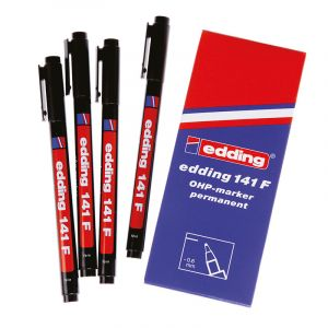 141F Permanent Marking Pens (Pack of 10)