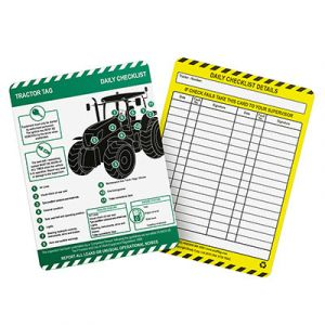 Tractor Tag Insert