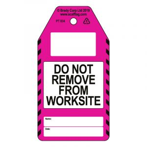 Do Not Remove from Site tag (Pack of 50)