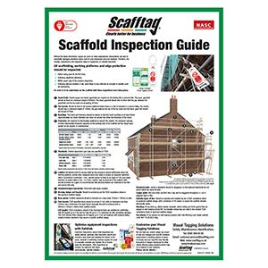 Scaffold Inspection Guide Poster