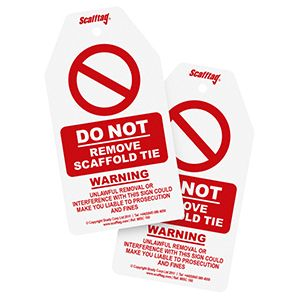 Do Not Remove Tie Tag (Pack of 50)