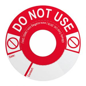 Eyebolt Tag - Do not use (Pack of 50)