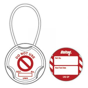 Unitag for Machinery - Next Test Date (Pack of 20)